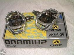 Shimano M545 MTB SPD Pedals For Flat or spd shoes