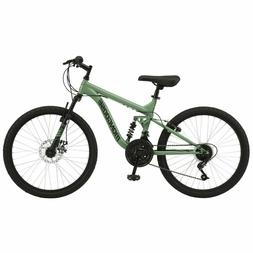 Mongoose Major Mountain Bike, 24-inch wheels, 18 speeds, Coo