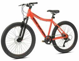 "Men Genesis 26"" Saracino Mountain Bike Red Shimano Disc Brea"
