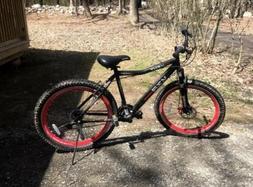 "26"" Kent Hardtail Red & Black Mountain Bike Aluminium 21-spe"