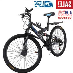 Men's Mountain Bicycle Bike 26-Inch Aluminum Frame 21-Speed