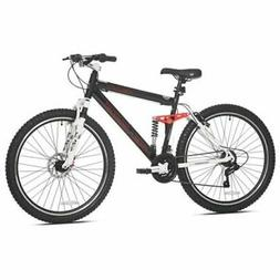 "Men's Mountain Bike, Black Genesis 27.5"" V2100 21 Speed Full"