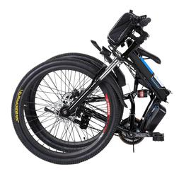 Men Women 36V Foldable Electric Power Mountain Bicycle with