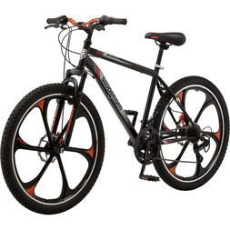 "Mens 26"" Mongoose Mack Mag Wheel Bike Mountain Sports Cyclin"