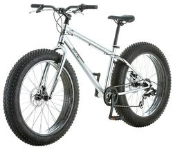 "Mongoose Mens Malus 26"" 7-Speed Fat Tire Cruiser Off Road Si"