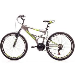 Merax Mens Mountain Bike 21 Speed Aluminium Frame Bicycle 26
