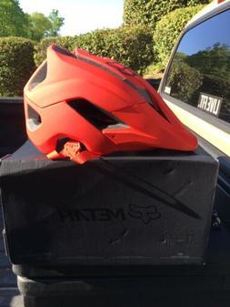 Fox Racing METAH Mountain Bike Helmet *RARE Matte Red, L/XL