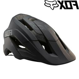 Fox Metah Solids Mountain Bike Helmet - Matte Black - Sizes