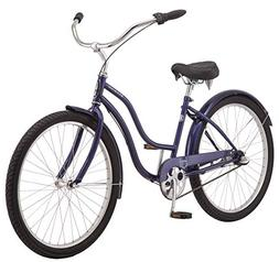 """Schwinn Mikko Women's Cruiser Bike, 3-Speed, 26"""" Wheels, Nav"""