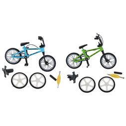 Mini Finger Mountain Bike Bicycle with Spare Tires for Child