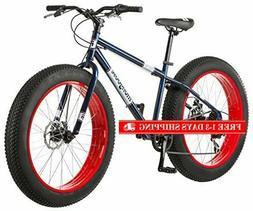 Mongoose Dolomite Fat Tire Mountain Bike, 26-Inch Wheels