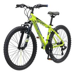 """Mongoose Boys Mech Mountain Bicycle, 13""""/One Size, Bright Gr"""