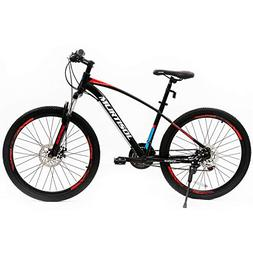 Murtisol Mountain Bike 26'' Hybrid Bicycle with Dual Dis