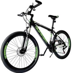 "Mountain Bike 26"" Mag Wheels Front Suspension Bicycle 21-Spe"