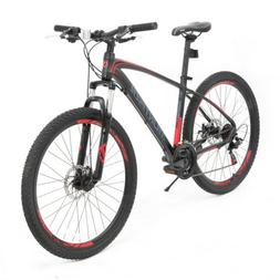 "Mountain Bike 27.5"" 21 Speed Bicycle Steel Frame Dics Break"