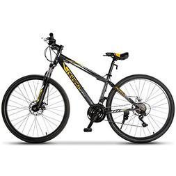 Murtisol Mountain Bike 27.5'' Hybrid Bicycle 21 Speed wi