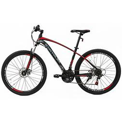 Murtisol Mountain Bike 27.5'' Hybrid Bicycle with Dual D