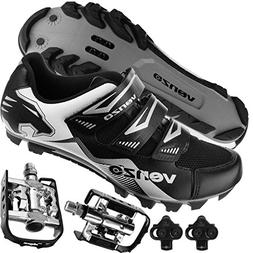 Venzo Mountain Bike Bicycle Cycling Shimano SPD Shoes + Mult