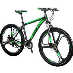 "Eurobike 29"" Mountain Bike Full Bicycle Shimano M370 27 Spee"