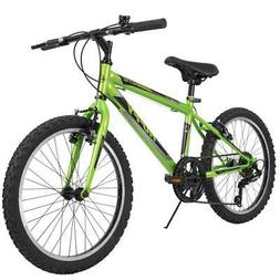 Huffy Mountain Bike Boys 20 Inch Green 5 Speed Granite NEW