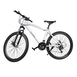 "Belovedkai Mountain Bike 26"" Carbon Steel Frame 21 Speed Whe"