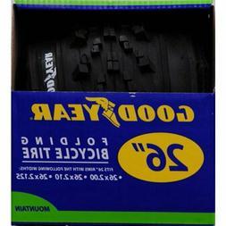 "Goodyear Mountain Bike Folding Bead Tire, 26"" x 2.1"""
