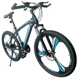 """Mountain Bike For Men's Bicycle 21-Speed 26"""" MAG Wheels Bicy"""