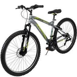 mountain bike mens 26 inch silver 18
