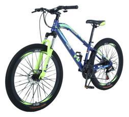 20 inch Mountain Bike Outdoor Bicycle 21 Speeds Bikes Steel