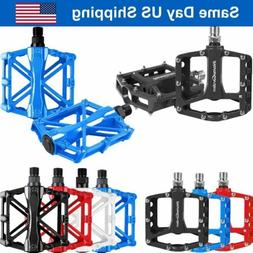 Mountain Bike Pedals Aluminum Alloy Cycling Sealed Bearing F