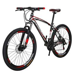 "Eurobike 27.5"" Mountain Bike 21 Speed Disc Brakes  Full Bicy"