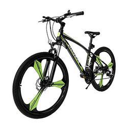"Eshylala Mountain Bikes 26"" Full Wheels Mountain Bicycles, D"