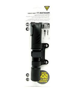 Topeak Mountain TT Twin Turbo 120psi/8.3bar Pump