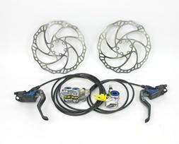 mt trail carbon hydraulic mtb disc brakeset