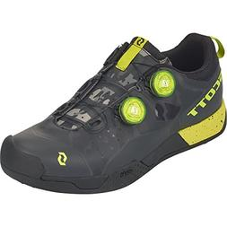 Scott MTB AR Boa Clip Shoe - Men's Black/Sulphur Yellow, 45.