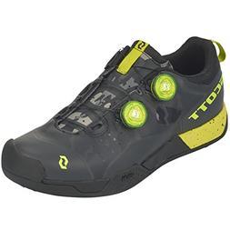 Scott MTB AR Boa Clip Shoe - Men's Black/Sulphur Yellow, 43.