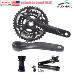 MTB Bike 170mm crankset 3*10 Speed Triple Crank 104BCD 24/32