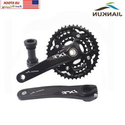 MTB Bike Crankset 104/64mm BCD 24/32/42T 3x10S Triple Speed