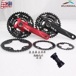 IXF MTB Bike Crankset BCD 104/64mm 24/32/42T Sprocket 3x10S