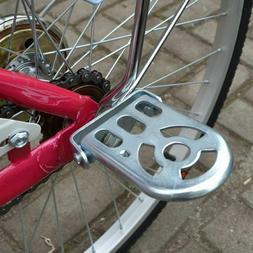 MTB Bike Rear Foot Pedal Kids Back Seat Children Cycling Bic