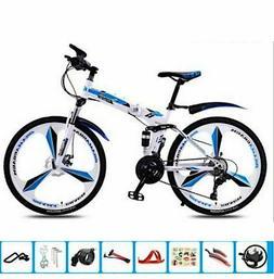 Mtb Folding Bike 21 24 27 30 Speed Double Damping Double Dis