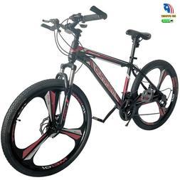 "New 26"" Front Suspension Mountain Bike 21-Speed Men's Bikes"