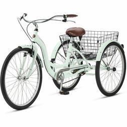 NEW SCHWINN 26 Meridian Adult Tricycle MINT 3-Wheel Bike Tri