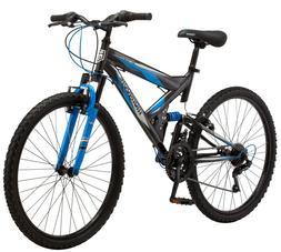 "NEW Mongoose 26"" Spectra Men's Steel Frame Mountain Bike - B"