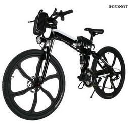 New 26inch Electric Mountain Bike Outdoor Camping Eco-Friend