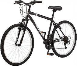 """Men Mountain Bike Steel Frame 18 Speed 26"""" Wheels Navy Fende"""