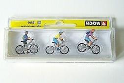 NEW  HO NOCH # 15899 : Three Mountain Bikers / Biker Figures