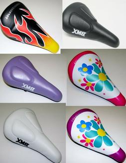 "NEW KIDS BIKE SEAT black purple white pink purple FOR 16"" OR"