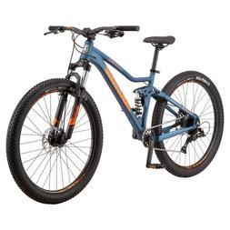 New Mongoose Ledge Full Suspension Mountain Bike, 7 Speeds,