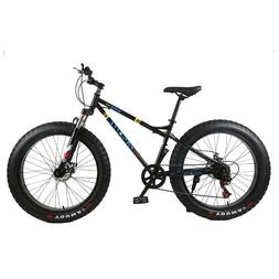 New mountain bike 4.0 fat tire mountain bicycle 24/26 inch h